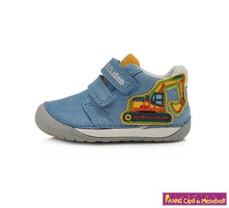 """D.D. step fiú """"Barefoot"""" gyerekcipő 20-25 kék markolós"""