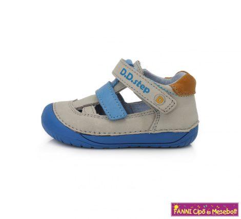 """D.D. step fiú """"Barefoot"""" szandálcipő 20-25 szürke-kék"""