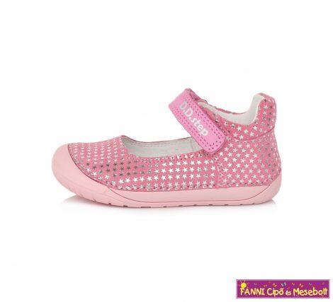 """D.D. step lány """"Barefoot """" szandálcipő/balerinacipő 20-25 s.pink csillagos"""