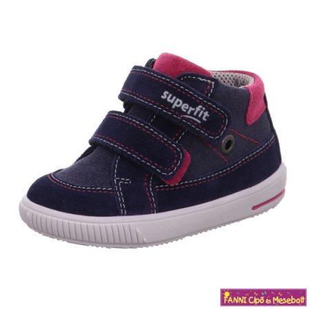Superfit lány gyerekcipő 22-28 MOPPY kék-piros