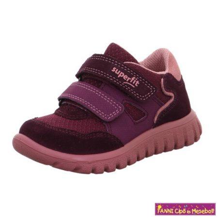 Superfit lány gyerekcipő 24-35 SPORT7 MINI bordó-rózsaszín