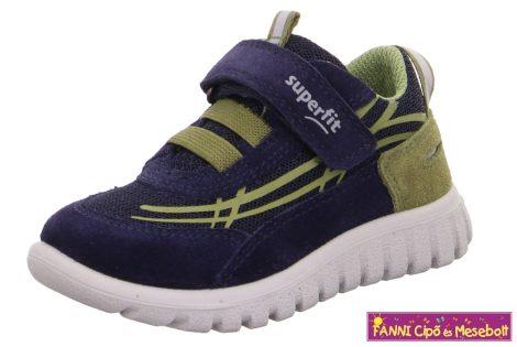 Superfit fiú gyerekcipő/sportcipő 23-32 SPORT7 MINI s.kék-zöld