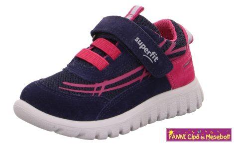 Superfit lány gyerekcipő/sportcipő 21-24 SPORT7 MINI kék-rózsaszín
