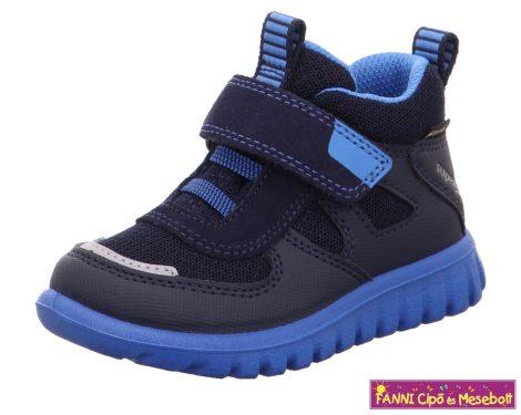 Superfit fiú GORE-TEX/ vízálló gyerekcipő/sportcipő SORT7MINI 25-30 kék