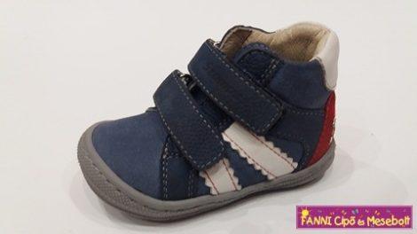 Szamos első lépés fiú cipő 17-22 kék-fehér, 17-ES UTOLSÓ PÁR