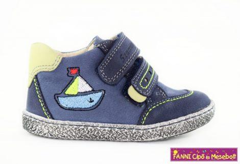 Szamos első lépés fiú cipő 17-22 kék-hajós, 17-ES UTOLSÓ PÁR