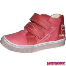 Szamos lány gyerekcipő 25-30 pink/piros baglyos