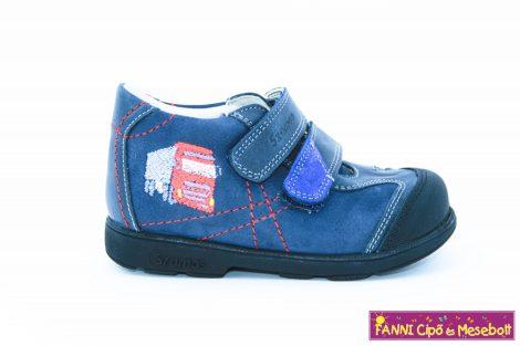 Szamos fiú szupinált gyerekcipő 31-35 s.kék kamionos