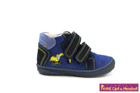Szamos fiú első lépés gyerekcipő 19-24 kék-markolós