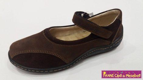 Szamos lány  szandálcipő/balerínacipő barna 31-40