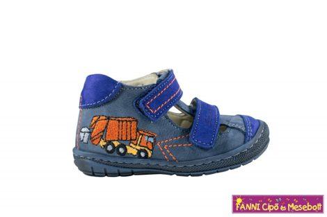 Szamos fiú első lépés szandálcipő 20-24 kék kukásautós