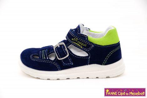 Superfit fiú szandálcipő 23-28 MEL kék-zöld
