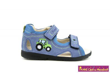 Szamos fiú szupinált szandál 31-35 v.kék traktoros
