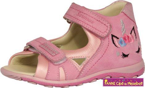 Szamos lány szandál 31-35 rózsaszín-pink unikornisos