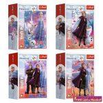 Anna és Elsa világa / Disney Frozen 2  Trefl 54 db-os mini puzzle