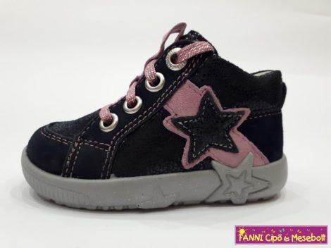 Superfit lány zárt cipő 19-26 kék-rózsaszín fűzős