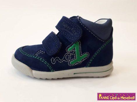Superfit fiú zárt zárt cipő 19-26 kék-zöld