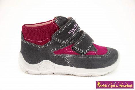 Superfit lány zárt cipő 20-26 szürke-pink