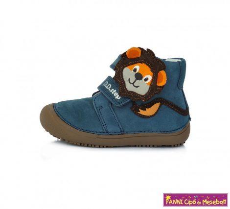 """D.D. step fiú """"Barefoot"""" gyerekcipő 25-30 kék oroszlános"""