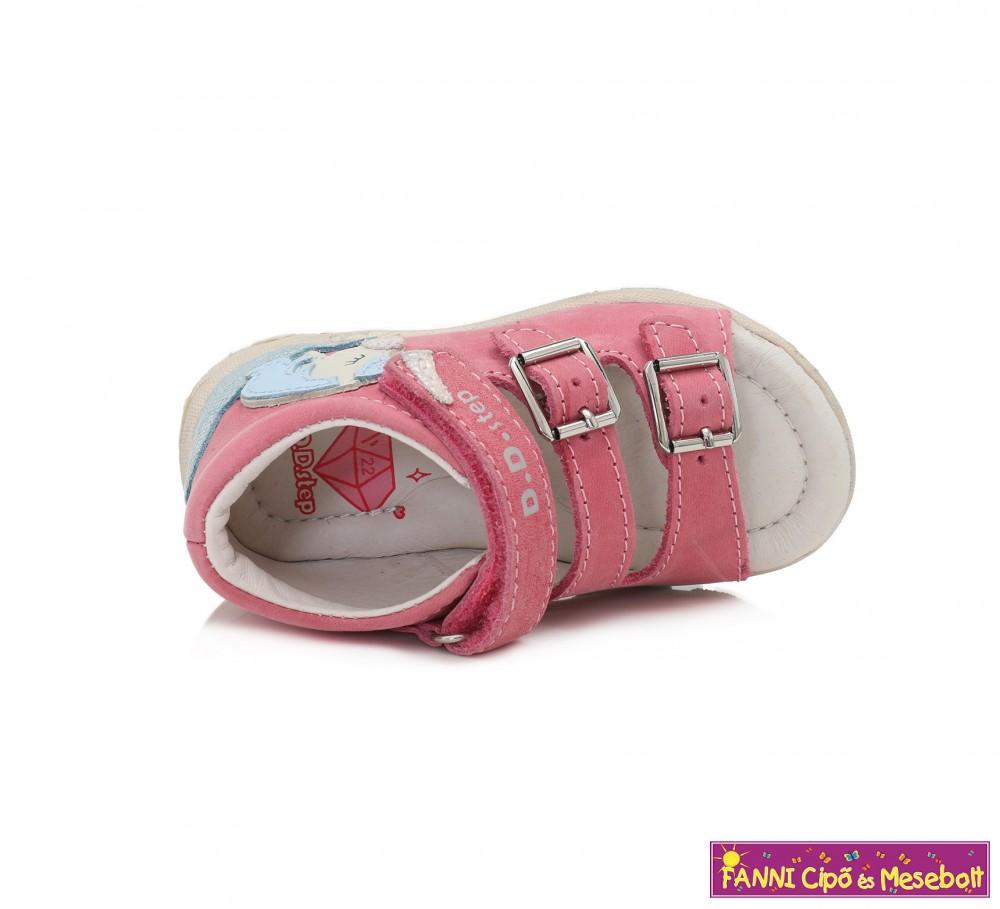 D.D. step lány szandál 19 24 s.pink unikornisos. Fanni