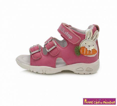 D.D. step lány szandál 19-24 pink nyuszis