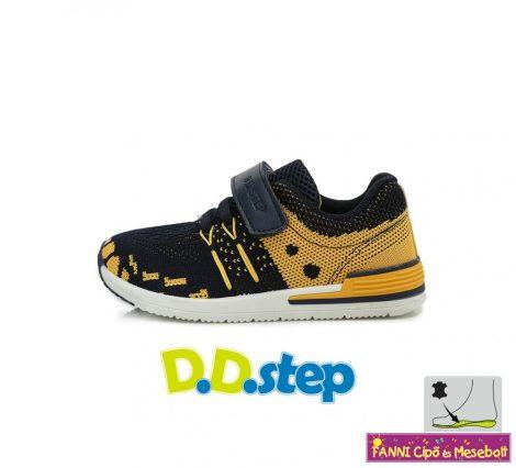 D.D. step fiú vászon sportcipő 20-25 Yellow-20-AS UTOLSÓ PÁR