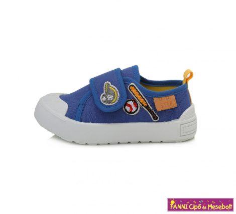 D.D. step fiú vászoncipő 20-25 kék
