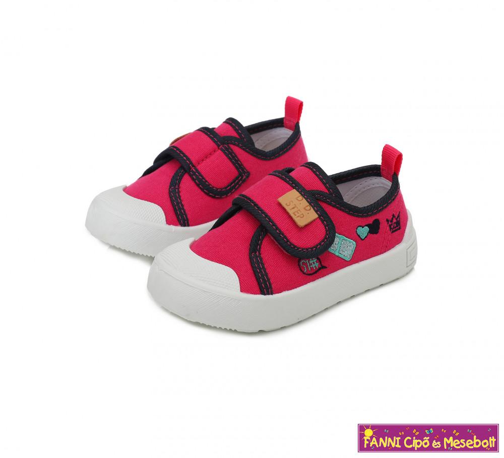 D.D. step lány szandál 31 36 White Fanni cipő és mesebolt