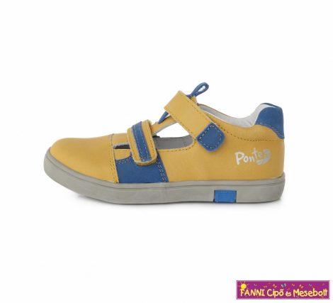 Ponte20 fiú szupinált szandálcipő 30-35 sárga-kék