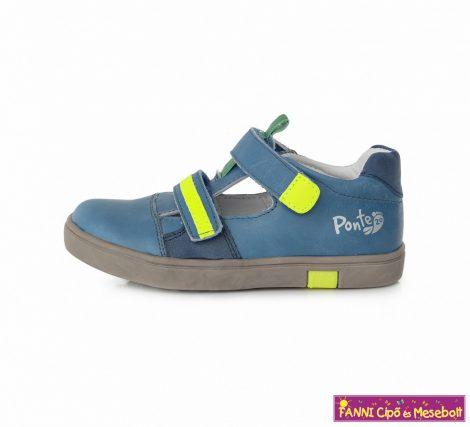 Ponte20 fiú szupinált szandálcipő 30-35 kék-neon