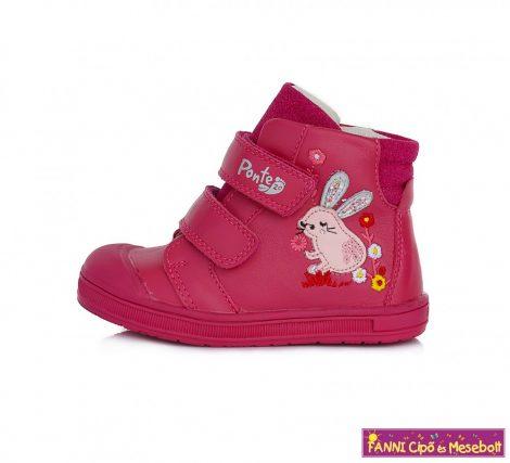 Ponte20 lány szupinált gyerekcipő 22-27 s.pink nyuszis