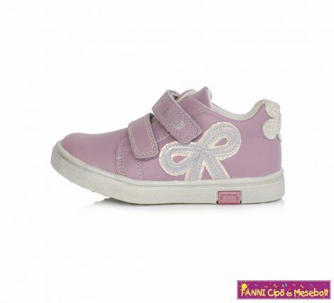 Ponte20 lány szupinált gyerekcipő 24-29 v.lila virágos-masnis