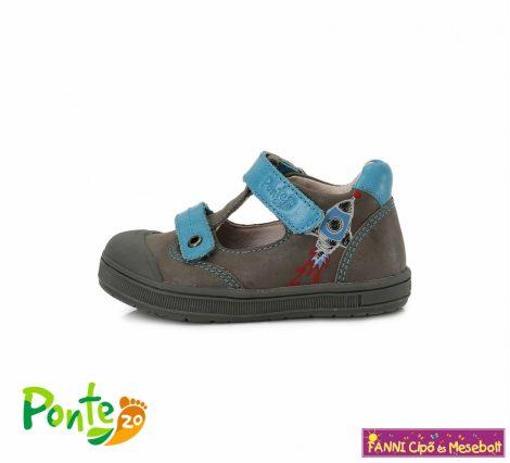 Ponte20 fiú szupinált szandálcipő 22-27 Grey