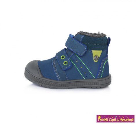 Ponte20 fiú szupinált téli bélelt gyerekcipő 22-27 kék-zöld