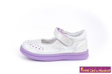 Ponte20 lány szupinált szandálcipő/balerinacipő 22-27 fehér-lila