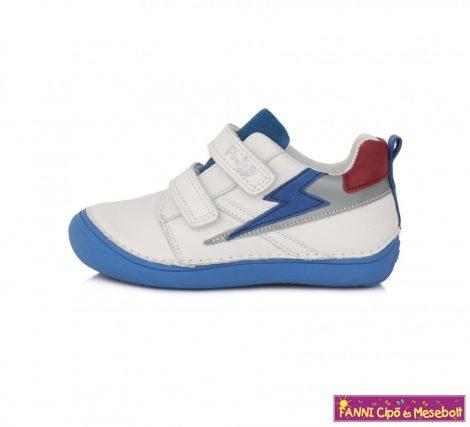 Ponte20 fiú szupinált gyerekcipő 30-35 fehér-kék villámos