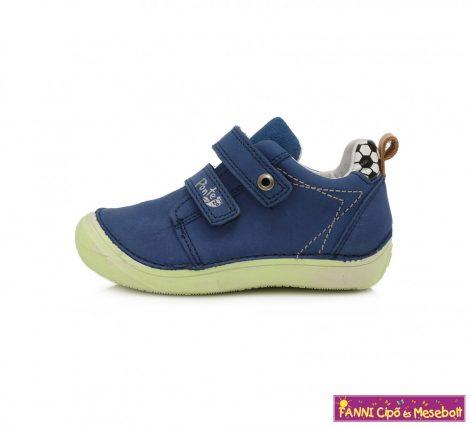 Ponte20 fiú szupinált gyerekcipő 24-29 kék-zöld labdás