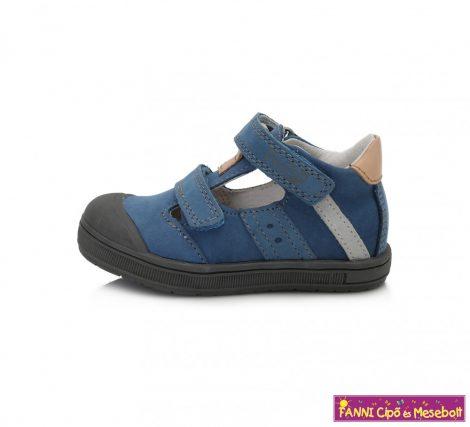 Ponte20 fiú szupinált szandálcipő 22-27 kék-bézs   22-ES UTOLSÓ PÁR
