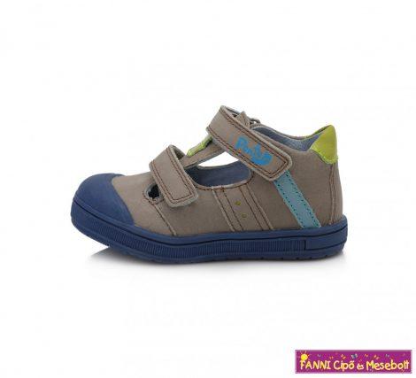 Ponte20 fiú szupinált szandálcipő 22-27 szürke-zöld