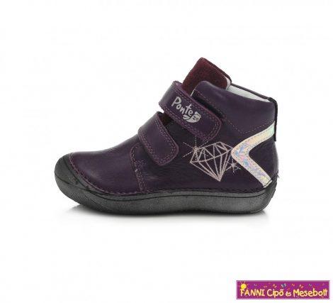 Ponte20 lány szupinált gyerekcipő 24-29 lila-gyémántos