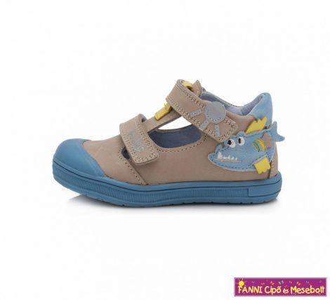 Ponte20 fiú szupinált szandálcipő 22-27 szürke-kék piranhás