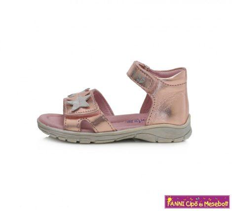 Ponte20 lány szupinált szandál 22-27 metál-pink