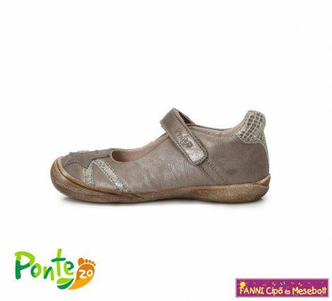 Ponte20 lány szupinált szandálcipő/balerinacipő 28-33 bronz csillagos