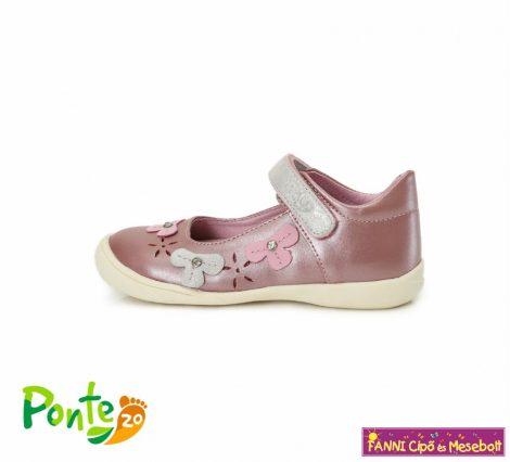 Ponte20 lány szupinált szandálcipő/balerinacipő 28-33 Daisy Pink
