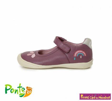 Ponte20 lány szupinált szandálcipő/balerinacipő 28-33 lila szivárványos