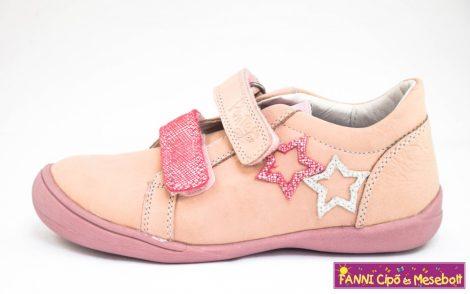 Ponte20 lány szupinált gyerekcipő 28-33 rózsaszín csillagos