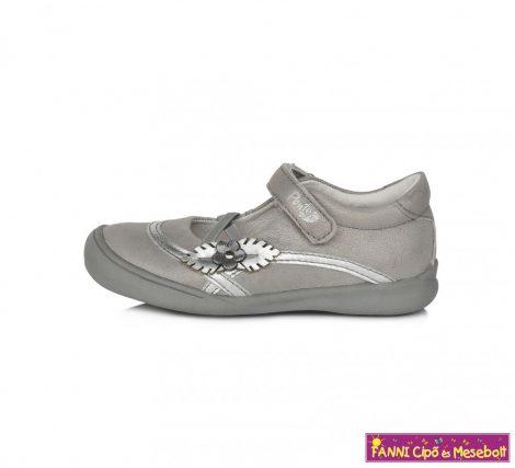 Ponte20 lány szandálcipő/balerinacipő 28-33 szürke-virágos