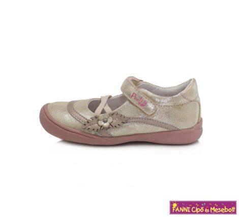 Ponte20 lány szupinált szandálcipő/balerinacipő 28-33 pezsgő-virágos