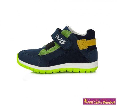 Ponte20 szupinált gyerekcipő 22-27 kék-neon