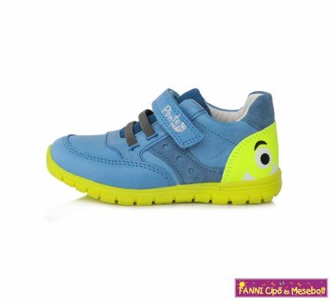 Ponte20 fiú szupinált gyerekcipő 22-27 kék-neonzöld